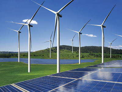 Eólica hidráulica fotovoltaica